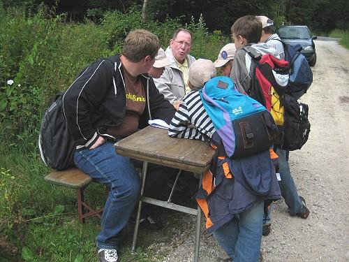 Der Heimatverein Hermeskeil beim Ferienspaß der VG Hermeskeil